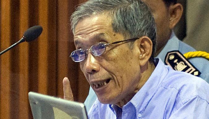 Miris Kambodžas Sarkano khmeru cietuma vadītājs