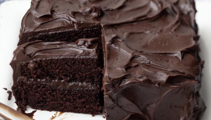 Fotorecepte: Šokolādes kūka