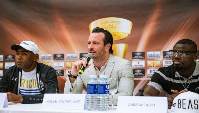 Boksa supersērijas rīkotājs Zauerlands: sestdien Rīga būs pasaules boksa centrs