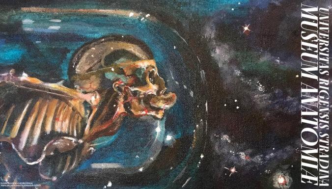 RSU Anatomijas muzeja jaunajā izstādē māksla pētīs zinātni