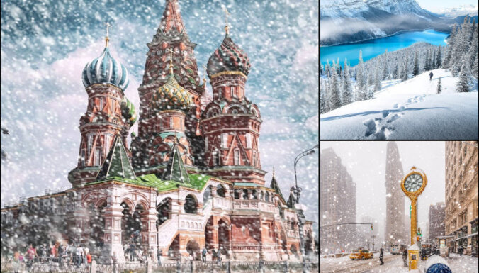 ФОТО. 13 снимков того, как выглядит зимняя сказка в разных уголках мира