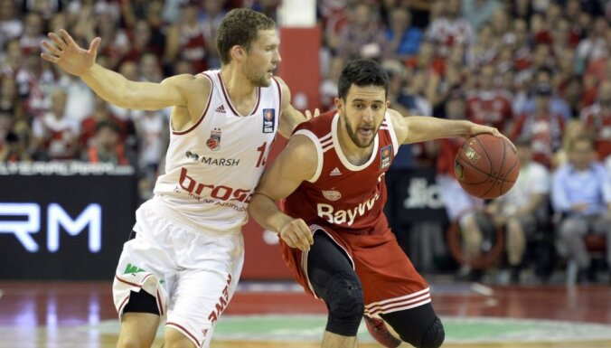 Strēlnieks un 'Brose Baskets' triumfē Vācijas čempionātā