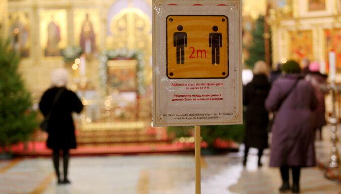 Bordāns ar baznīcu vadītājiem apspriedīs jaunu ierobežojumu ieviešanu