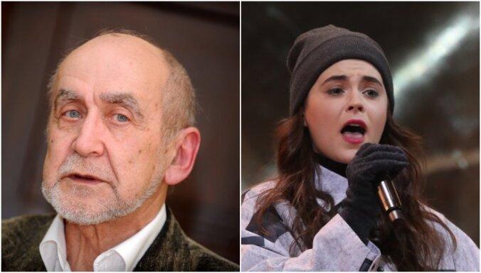 Arī Imants Kalniņš pauž atbalstu dziedātājai Evijai Vēberei