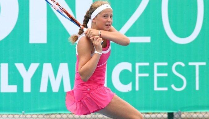 Latvijas jaunā tenisiste Ostapenko debitē WTA rangā