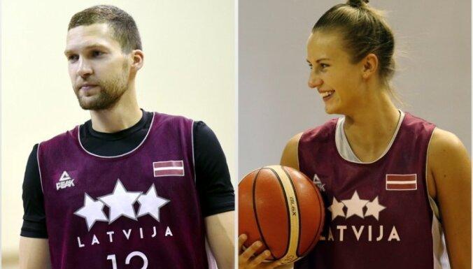 Strēlnieks un Laksa tiek atzīti par Latvijas gada basketbolistiem