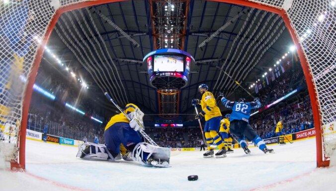 IIHF: Pasaules čempionāta hokejā norise šobrīd ir spēkā