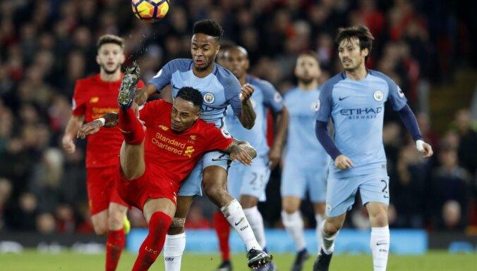 Britain Football Soccer - Liverpool v Manchester City -
