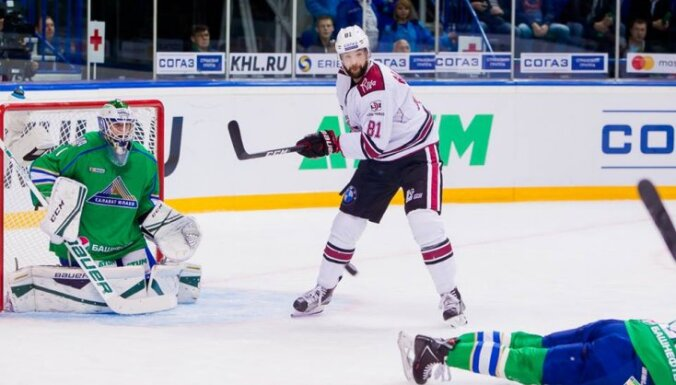 Colton Gillis (Dinamo Riga), Svedberg (Salavat)
