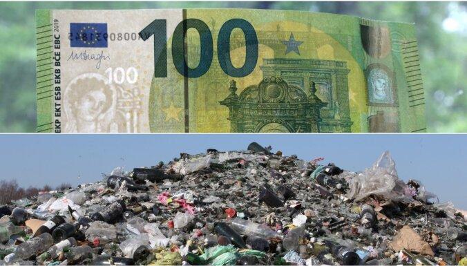 Могут запретить перезаключение договоров на вывоз мусора в Риге
