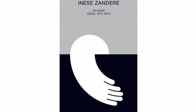 Nāks klajā dzejnieces Ineses Zanderes jaunā grāmata 'No mazā. Dzeja. 1975-2015'