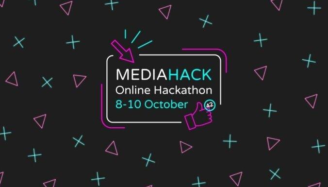 Tiešsaistē notiks 'MediaHack 2021 Online Hackathon' fināls