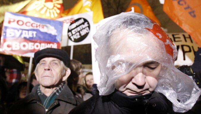 Krievijas protesti: opozīcijai atļauj rīkot mītiņu ar 30 000 dalībnieku