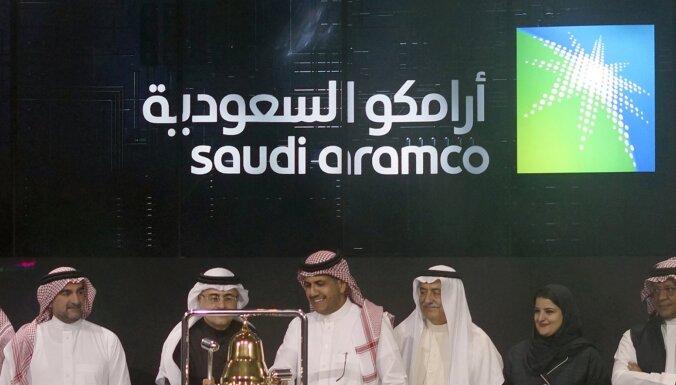 'Saudi Aramco' debitē akciju tirgū, kļūstot par lielāko biržā kotēto uzņēmumu