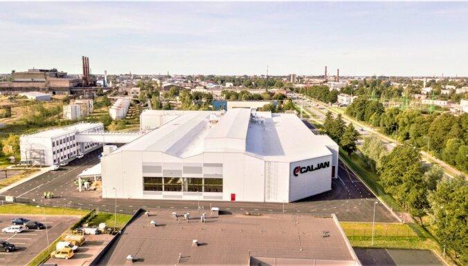 Foto: 'Caljan' izveido jaunu rūpnīcu bijušajā 'Liepājas metalurga' teritorijā