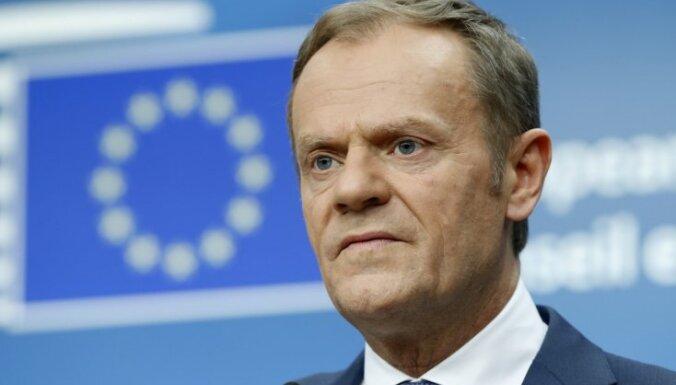 27 ES dalībvalstu līderi apstiprina 'Brexit' vienošanos; Latvijas vietā balso Igaunija