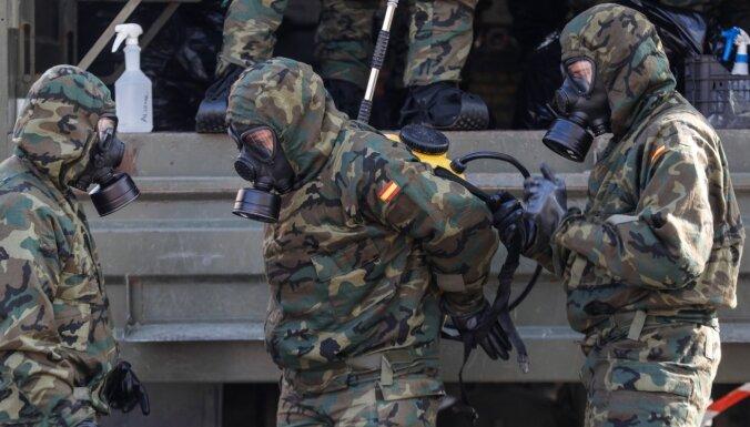 Spānijā turpina samazināties no Covid-19 mirušo skaits