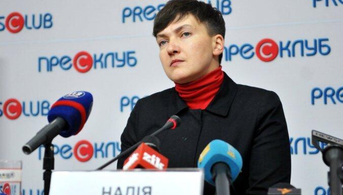 """Надежда Савченко назвала проект """"Малороссия"""" """"криком о помощи"""""""