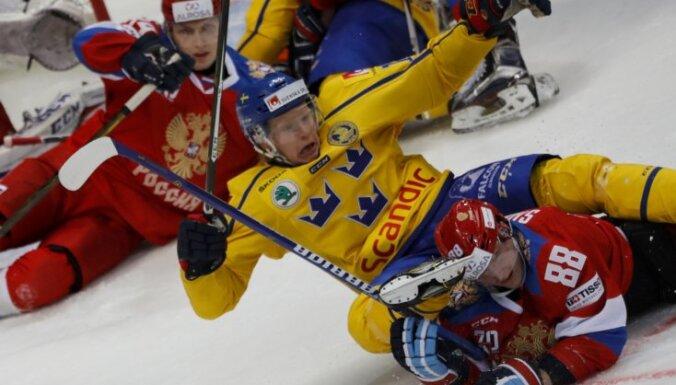 Sweden Emil Johansson, Russia Sergei Shumakov,