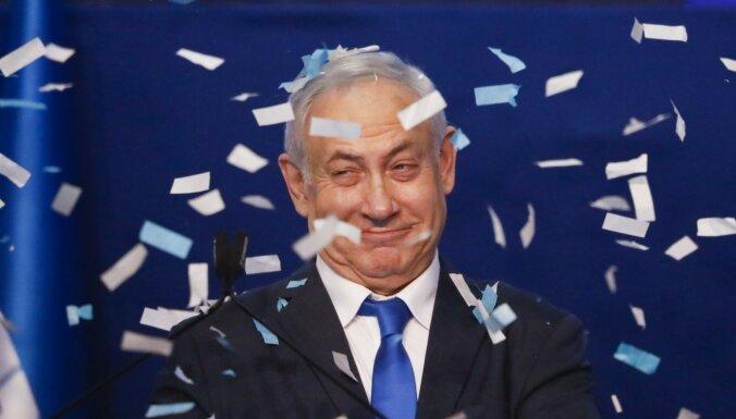 Izraēlas vēlēšanās vadībā Netanjahu partija 'Likud'