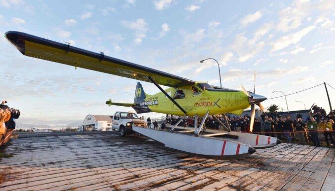 Aviācijas trešā ēra sākusies: gaisā paceļas komerciālā lidmašīna ar elektrodzinēju