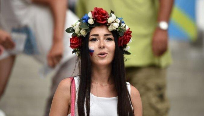 ФОТО: Красивые болельщицы и колоритные фанаты ЕВРО-2016