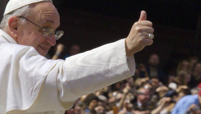 Аболтиня пригласила папу Франциска посетить Латвию