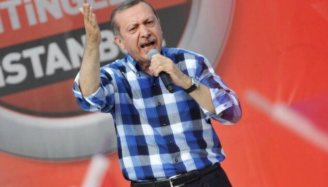 Erdogana Turcijai nav vietas Eiropā, pauž Vācijas politiķi un mediji