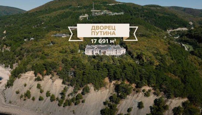 Navaļnijs publicē pētījumu par Putina miljardu eiro vērto villu Gelendžikā