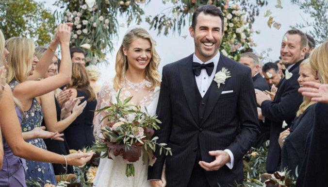 ФОТО: Пышногрудая модель Кейт Аптон вышла замуж