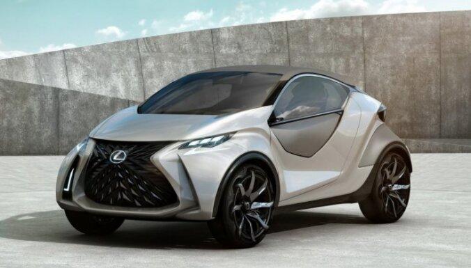 'Lexus' mazā hečbeka prototips 'LF-SA'