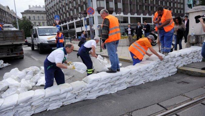 Budapešta gatavojas rekordlieliem plūdiem