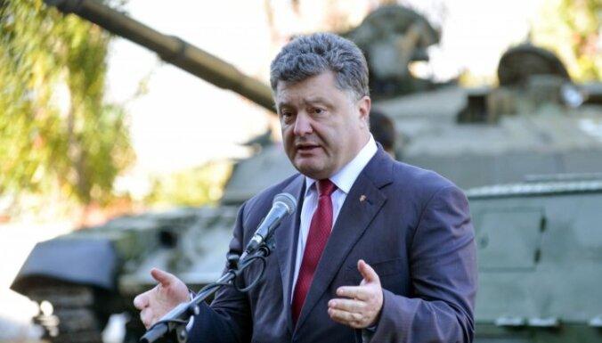 Putins nav draudējis Ukrainas prezidentam, paziņo Porošenko administrācija