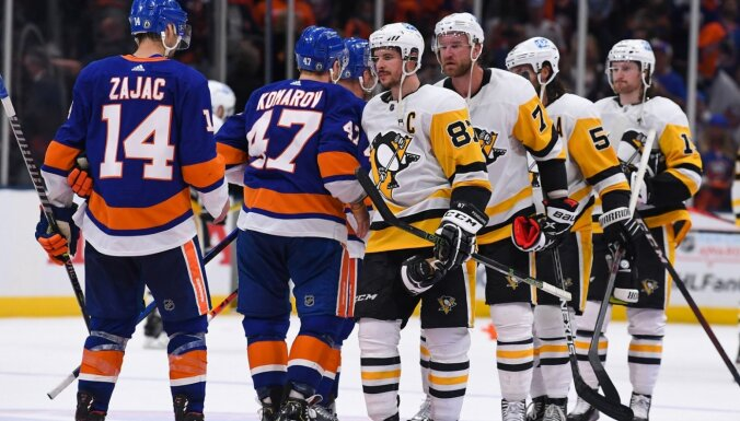 """""""Питтсбург"""" с Блюгерсом вылетел в первом раунде плей-офф НХЛ"""