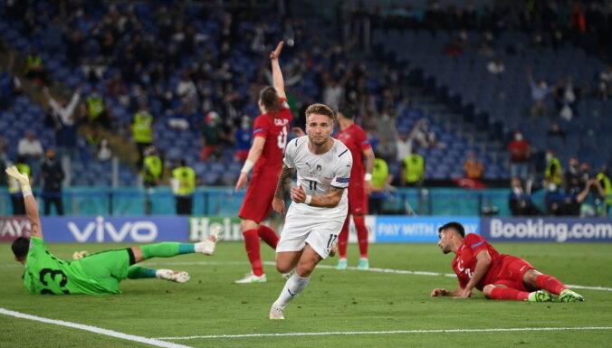 Сборная Италии разгромила Турцию в первом матче ЕВРО-2020 по футболу