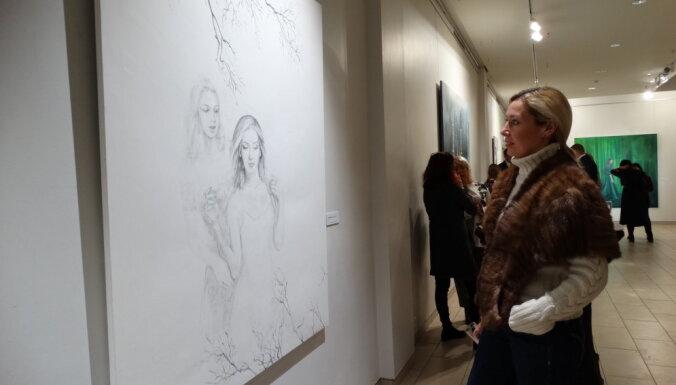 ФОТО: Культурная жизнь в зимней Юрмале - читатель о художественных выставках