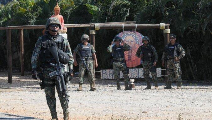 Meksikas policija reidā pret narkotirgoņiem noslepkavojusi 22 civiliedzīvotājus