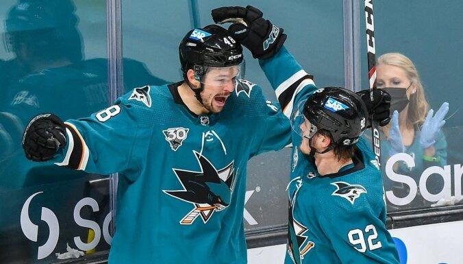 Balceram pirmais rezultativitātes punkts šajā NHL sezonā