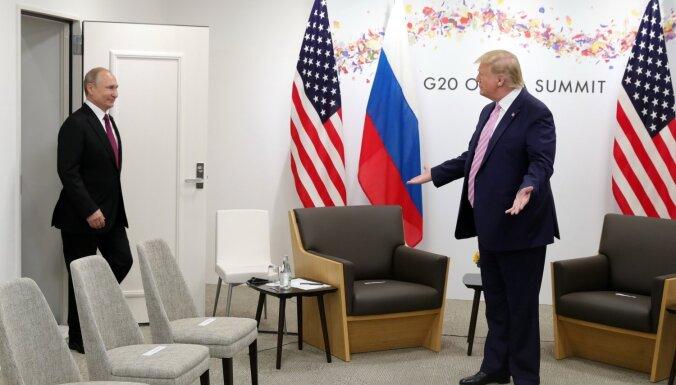 Putins starptautiskajā spēlē ir labāks par Trampu, liecina pētījums