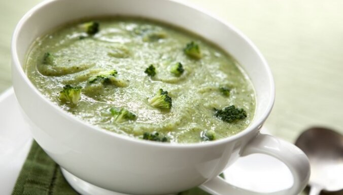 Суп из брокколи