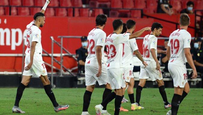 'Sevilla' tikpat kā nodrošina vietu UEFA Čempionu līgā