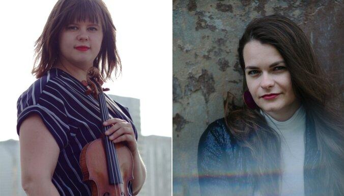 Tiešsaistēs koncertā uzstāsies vijolniece Magdalēna Geka un pianiste Iveta Cālīte