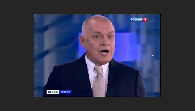 """Димантс: вещание """"Россия РТР"""" прекращено из-за военной пропаганды"""