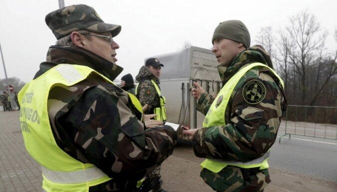 Литва начинает строительство ограждения на границе с Россией