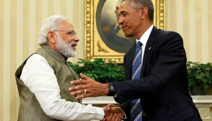 ASV Indijai atdod nozagtus artefaktus 100 miljonu dolāru vērtībā