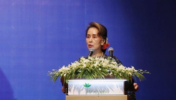 Mjanmas un Ungārijas līderi par lielāko izaicinājumu uzskata migrāciju