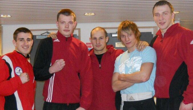 Четверка латвийских боксеров показала себя в Хельсинки
