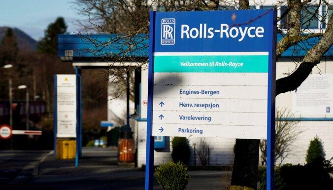 Norvēģija neļauj pārdot Krievijai 'Rolls-Royce' dzinēju rūpnīcu