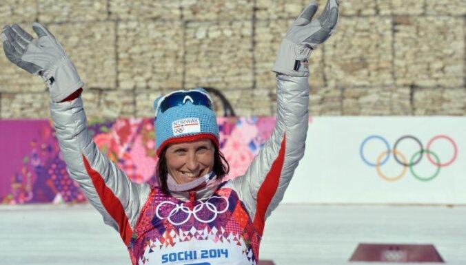 Норвежка Бьорген — четырехкратная Олимпийская чемпионка