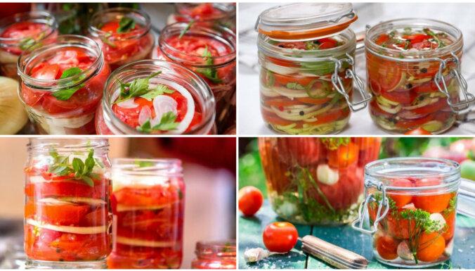 Augusta izaicinājums – tomāti želejā: 10 recepšu variācijas čaklajiem konservētājiem